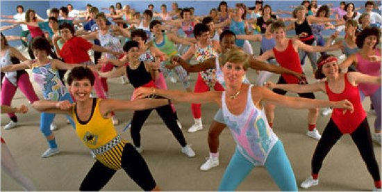 aerobics class 80s1 Real Clear Politics endorsed Sarah Palin for V P on June 4, ...