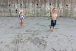 Happy beach kids!